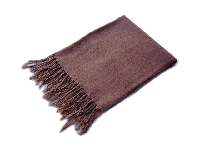 Dark Brown chocolate Pashmina Shawl